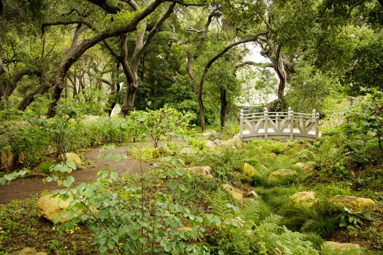 Montecito garden, lulight, Van atta associates