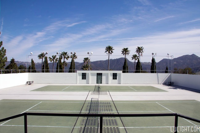 Hearst castle pictures, tennis, lulight