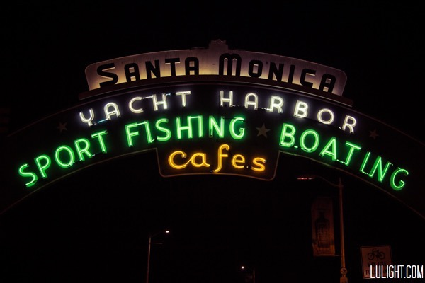 Santa Monica Photo Pier Neons